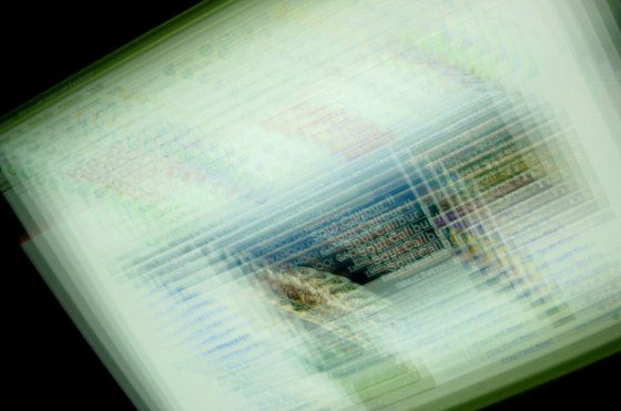 Computer screen madness by Ossian Engmark/Freeimages