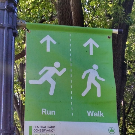 Where to run and walk on the Central Park reservoir track